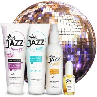2020 Offer! HAIR JAZZ Hair Growth Set With Hyaluronic Conditioner