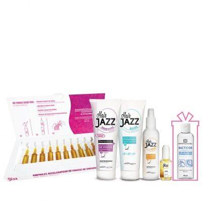 Hair Jazz Set- Super Growth + Gift Hydroalcoholic Antibacterial Hand Gel 100 ml