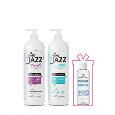 Hair Jazz Set- 6 Months Care + Gift Hydroalcoholic Antibacterial Hand Gel 100 ml