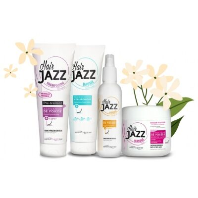 Spring Sale - HAIR JAZZ Hair Growth Set With Hyaluronic Conditioner -45%