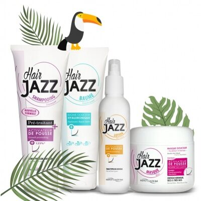 Summer sale - HAIR JAZZ hair growth set with hyaluronic conditioner -45%
