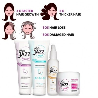 HAIR JAZZ Set - Complete Washing Routine For Hair Growth